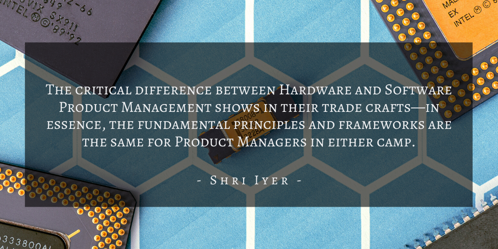 Shri Iyer – San Francisco Hardware Software Quote 1