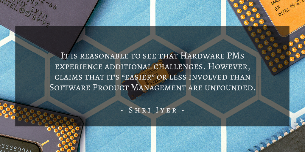 Shri Iyer – San Francisco Hardware Software Quote 2
