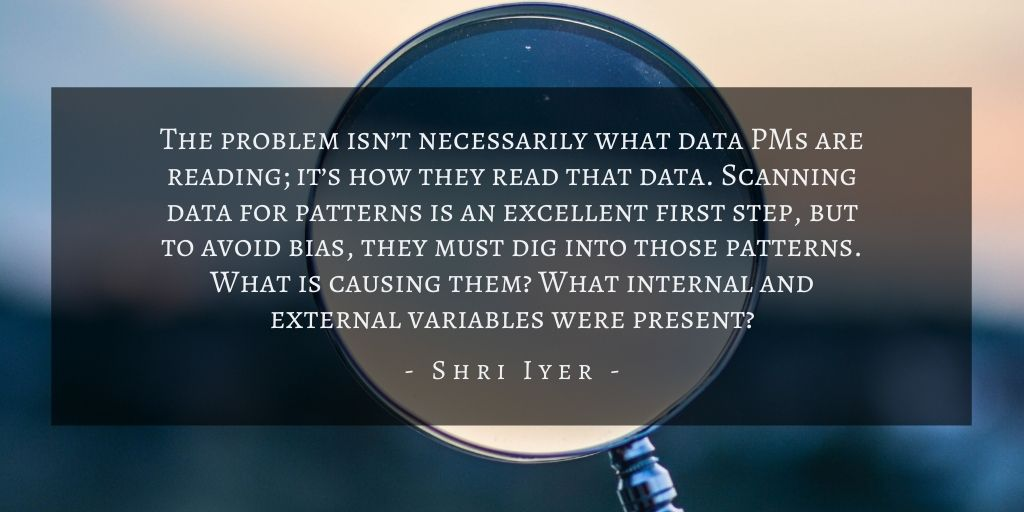 Shri Iyer – San Francisco Product Biases Quote 1