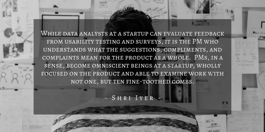 Shri Iyer - PM in Startups Quote 1
