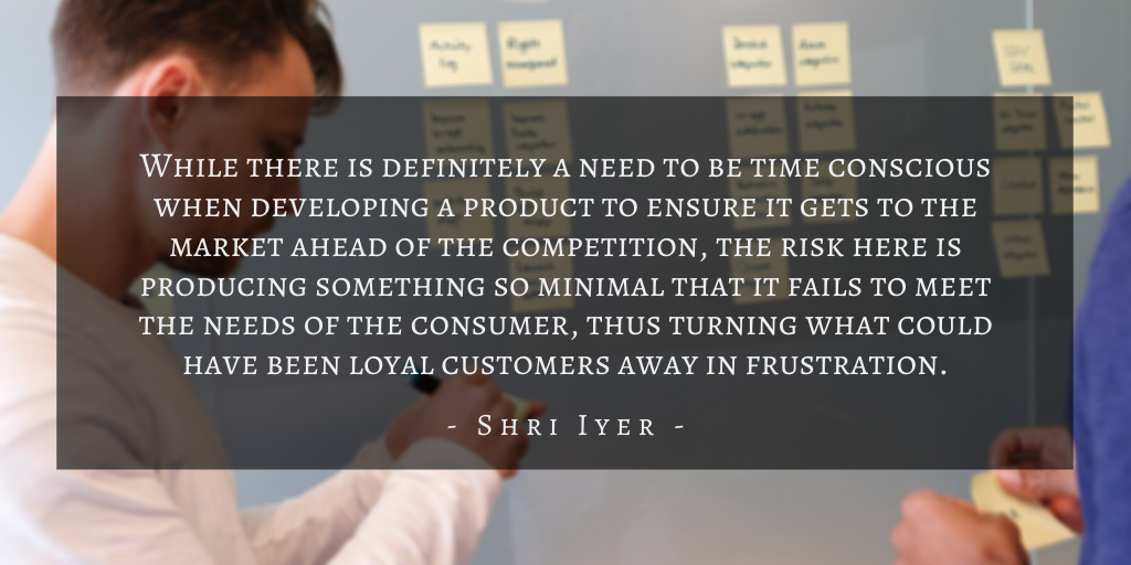 Shri Iyer – San Francisco Building A Winning Mvp Quote 1
