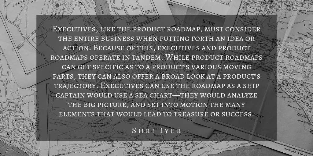 Shri Iyer - Who Uses Product Roadmaps Quote 3